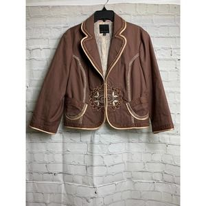 THE LIMITED BLAZER CROPPED W LINING MD